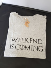 Afbeelding in Gallery-weergave laden, T-shirt Weekend is Coming