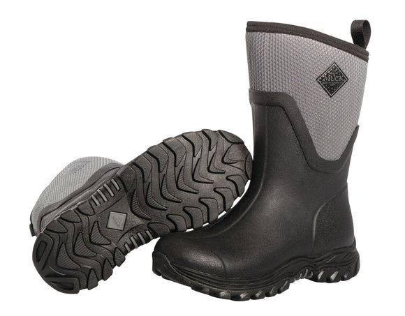 Muck Boot Arctic Sport II Woman Mid Black/Grey (AS2M-101)