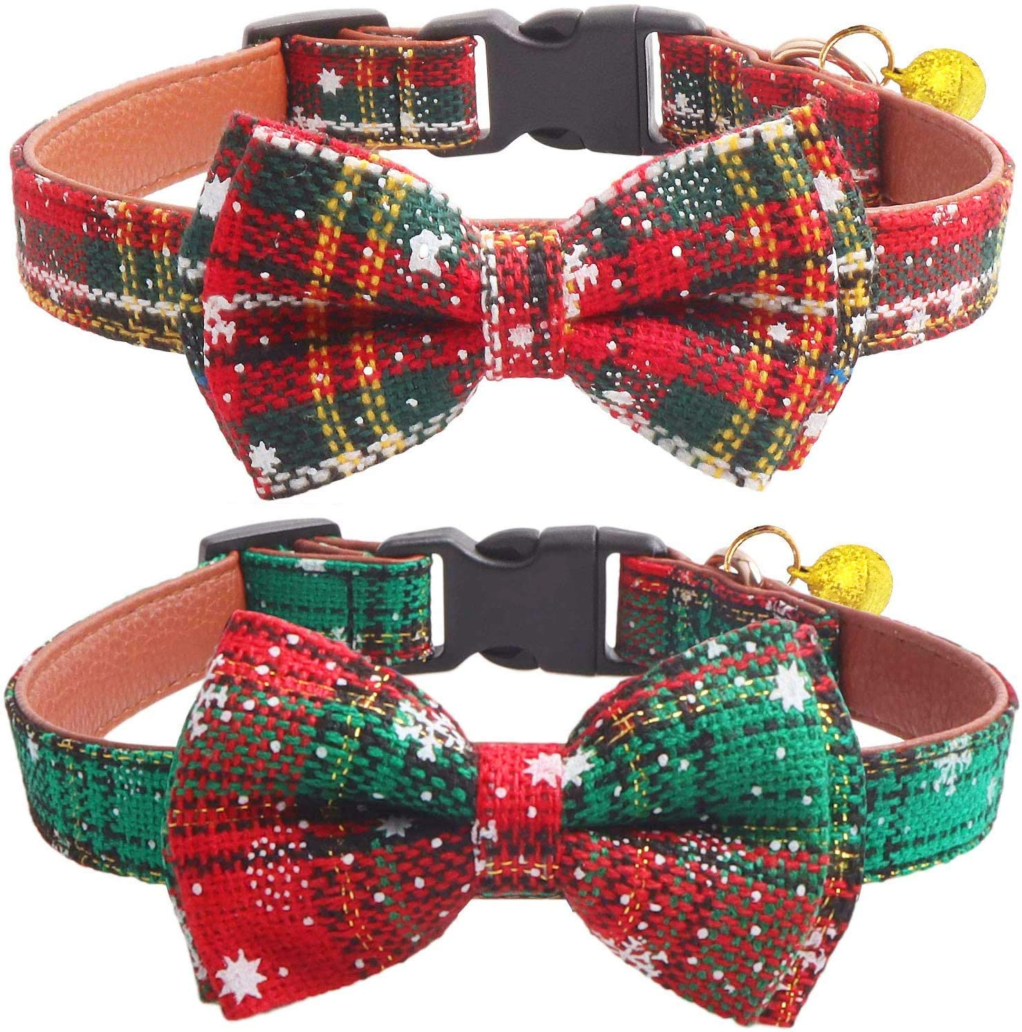 'MY SNOWFLAKE BOW TIE COLLAR'