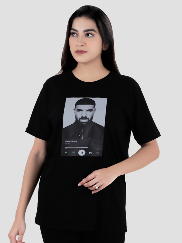 Drake Over-sized Printed T-shirt