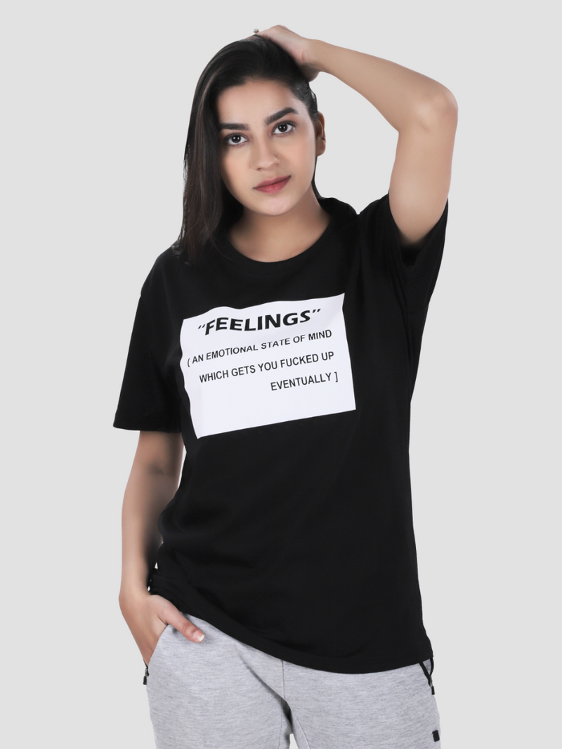Feeling Dictionary Over-Sized T-shirt
