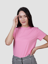 Fusion Combo: Woke White Tee & La vi en Rose Tee (Pack of 2)