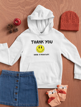 Over-sized Thank you women Hoodie