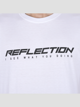 Reflection White Tee
