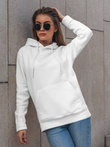 Over-sized Woke White Hoodie