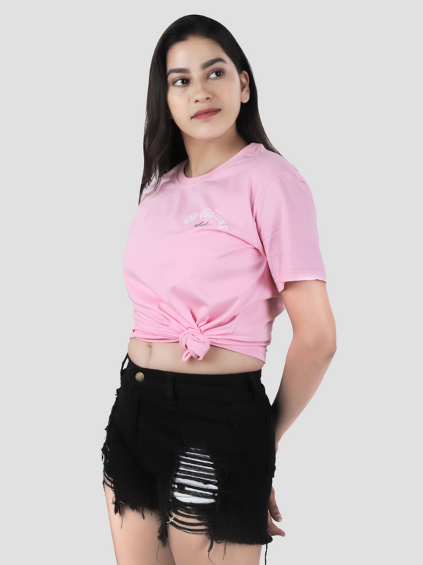 Baby Pink Bad Decision Club T-shirt