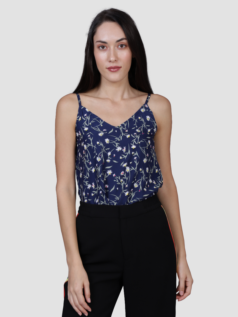 Blue Bells Floral Top