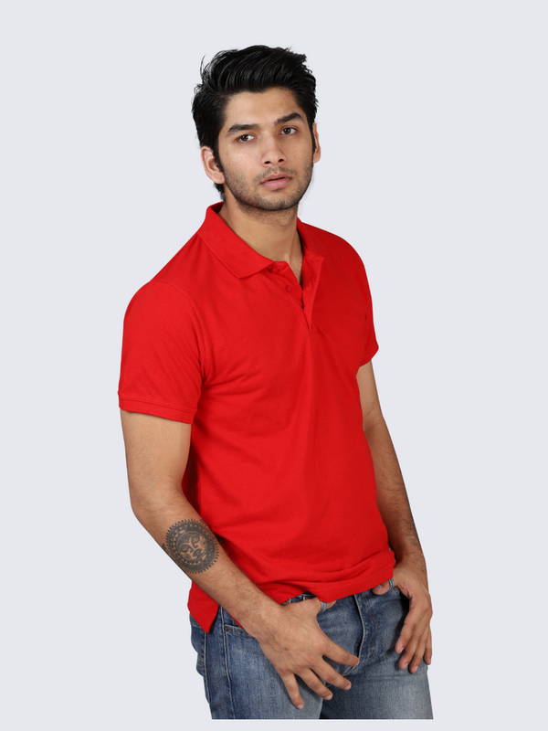 Savage Red Polo T-shirt