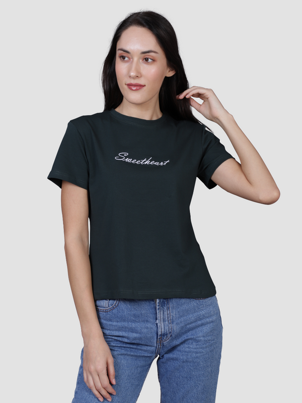Sweetheart Women's Green Tee