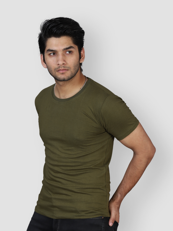 Fossil Olive Green T-shirt