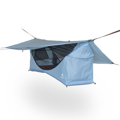 Haven tent blue hammock