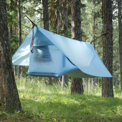 Haven Tent with Insulated Pad - Sky Blue
