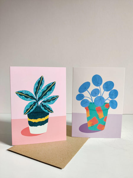 Botanical Greetings Card - Southside Atelier