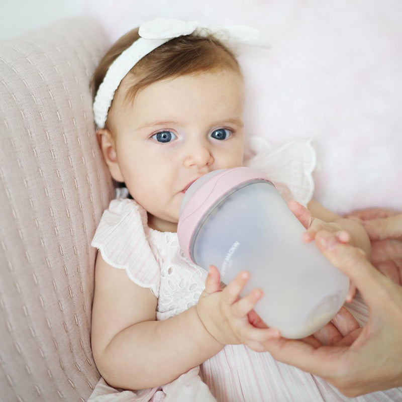 Natural Feel, Anti-Colic, Soft Silicone Baby Bottle