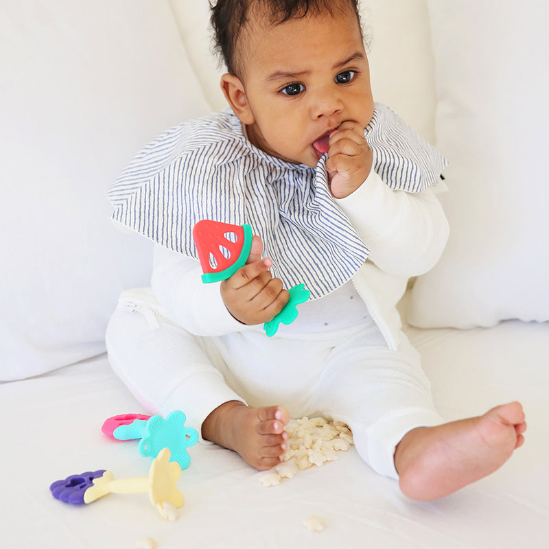 100% Silicone Baby Fruit Teether