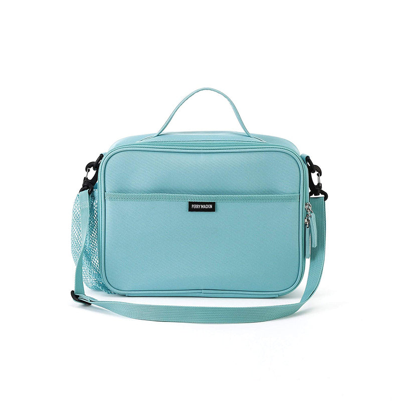 light blue Perry Mackin lunch box