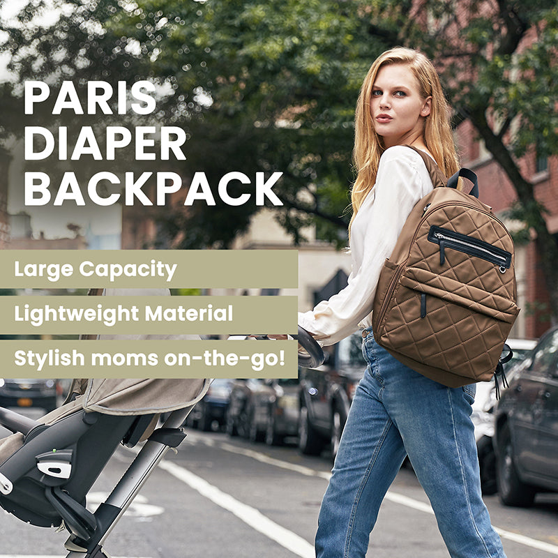 Paris Backpack - Large Travel Baby Bag