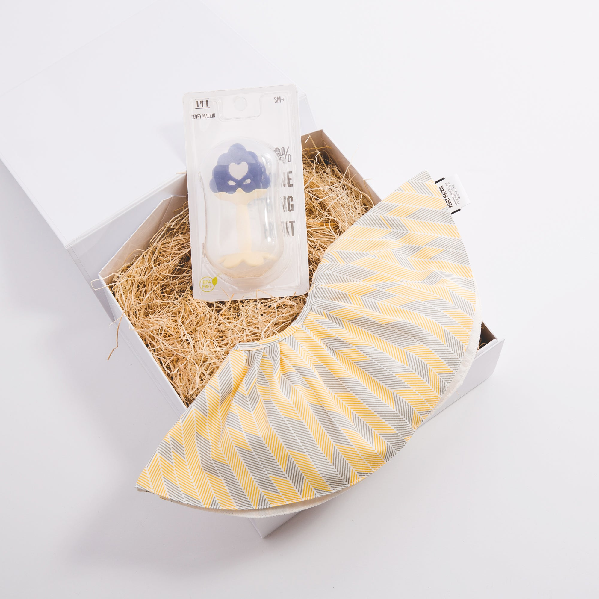 Teether and Bib Gift Set