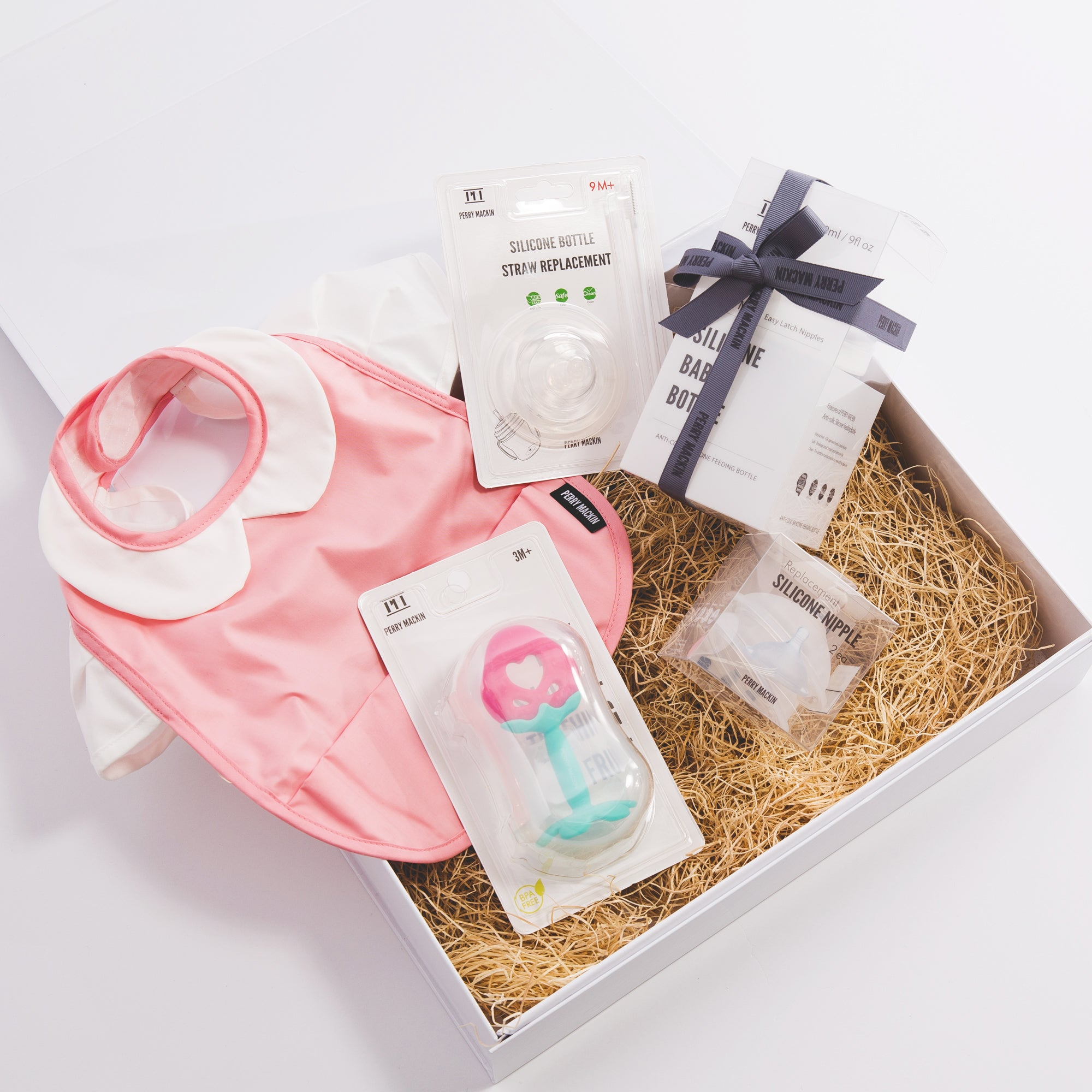 Silicone Meets Organic Cotton Gift Set