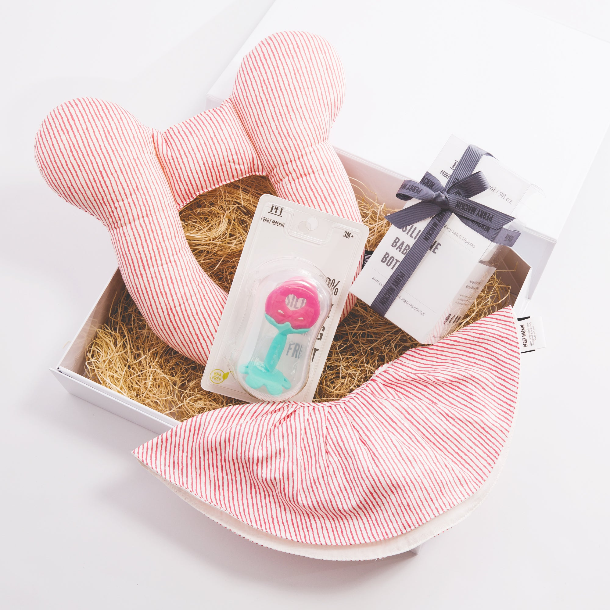 Silicone & Organic Cotton Gift Set Combo