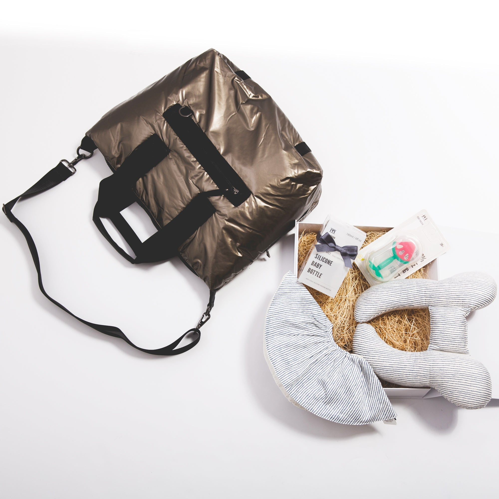Luxury Diaper Bag Essentials Gift Set