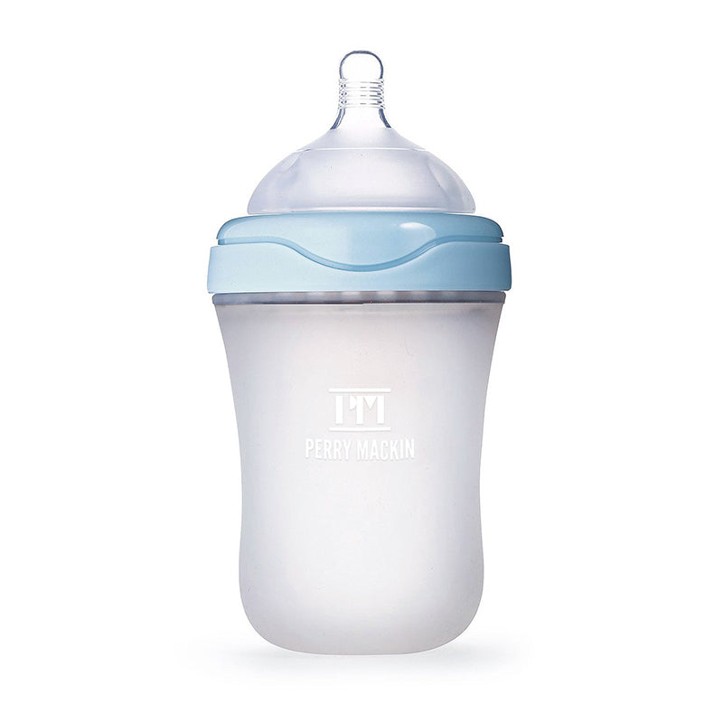 Silicone Baby Bottle - Soft Natural Feel, Anti-Colic