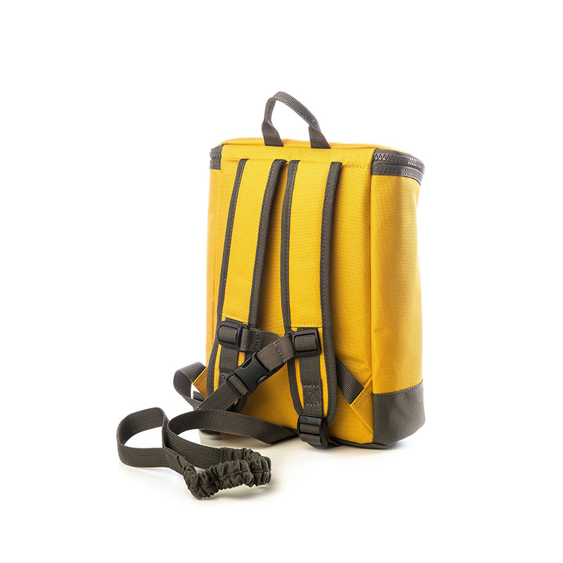 toddler harness backpack yellow