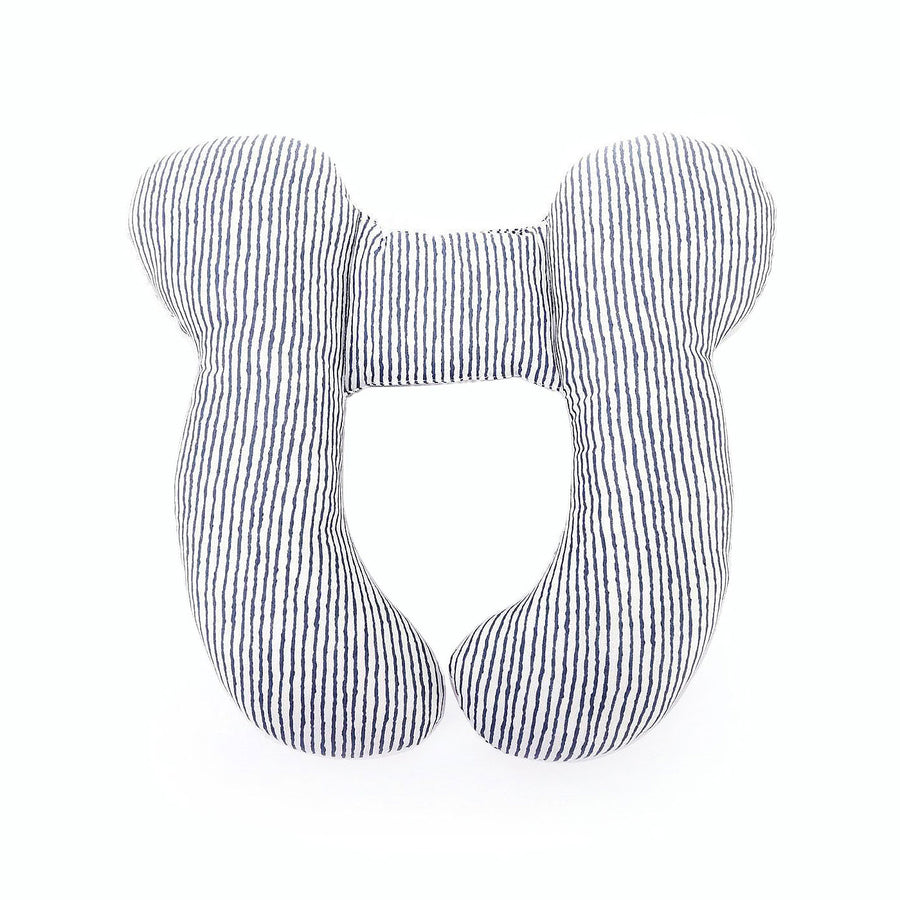 Organic Cotton Head, Neck & Shoulder Support Baby Travel Pillow