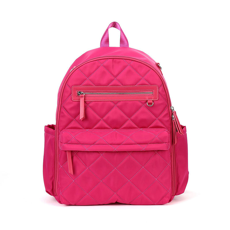 Perry Mackin travel baby bag - pink