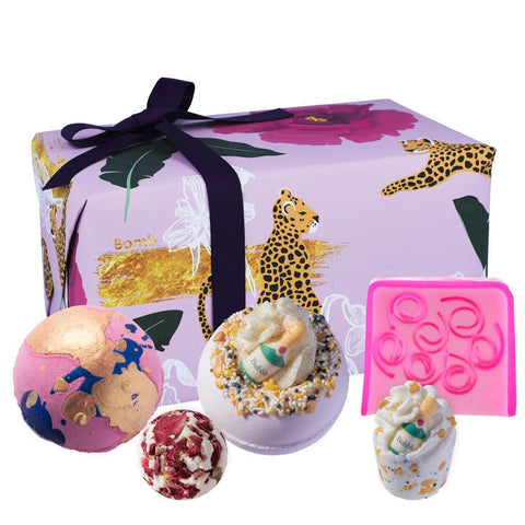 Gift Wrapped Bath Bomb Collection