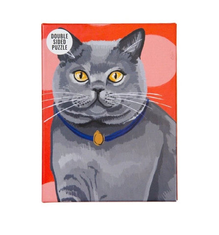 Cat Jigsaw Puzzle two sided