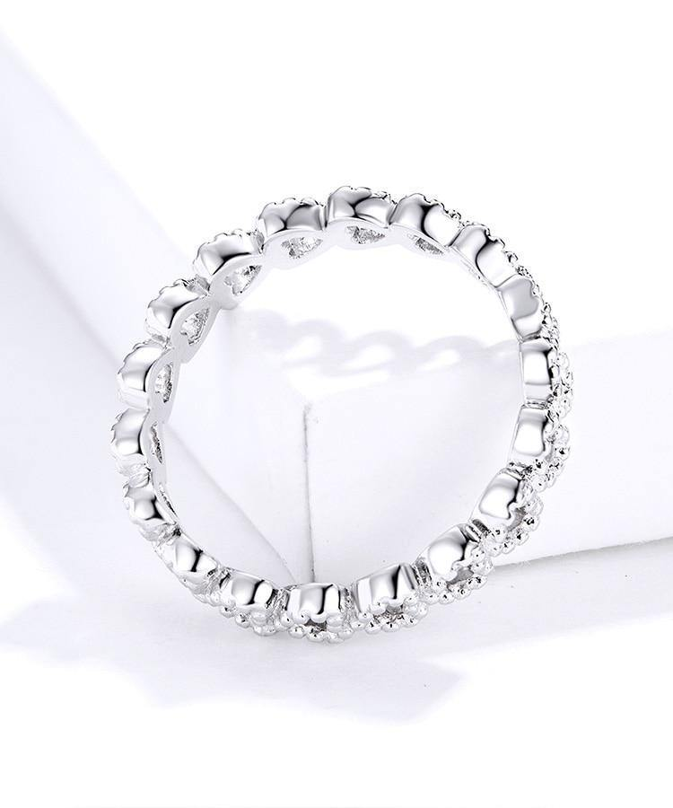 Band of Hearts Ring - No imperfection