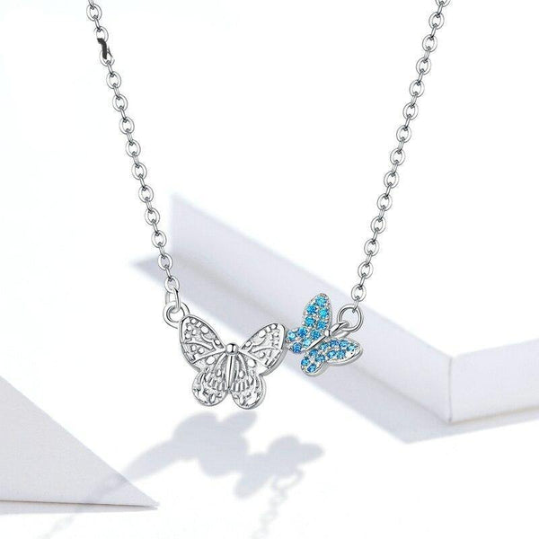 Dreamy Butterfly Necklace - No imperfection