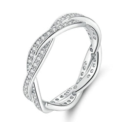 Intertwined Love Ring - No imperfection
