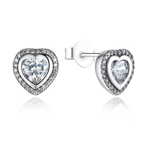 Love Stud Earrings - No imperfection