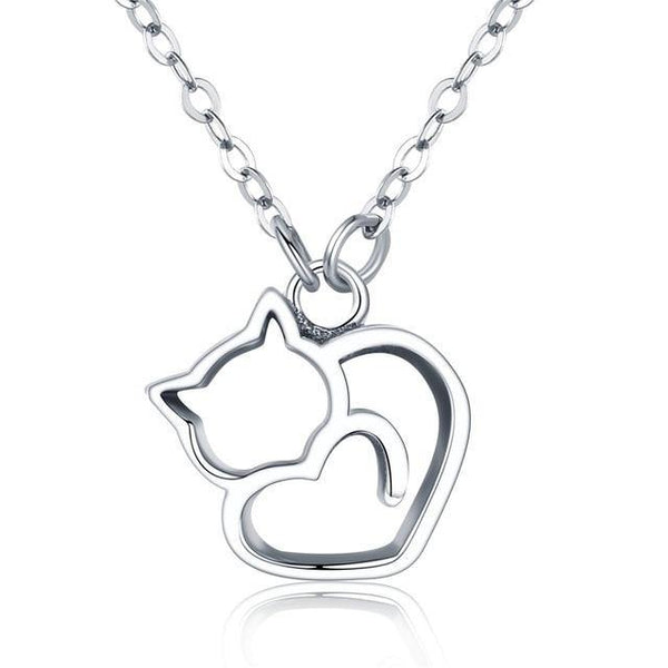 Lovely Cat Necklace - No imperfection