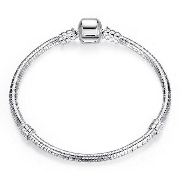 Silver Snake Chain Bracelet - No imperfection
