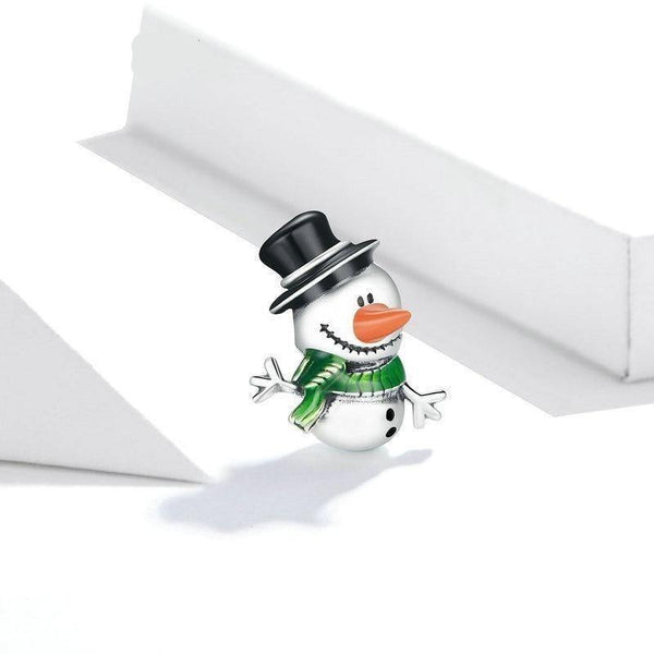 Snowman Christmas Charm - No imperfection