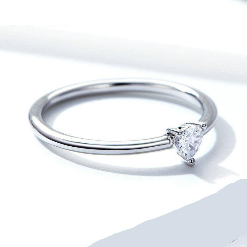 The Clear Heart Ring - No imperfection