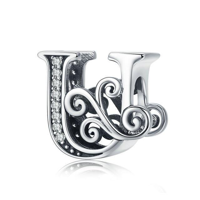 Vintage Letter Charms - No imperfection