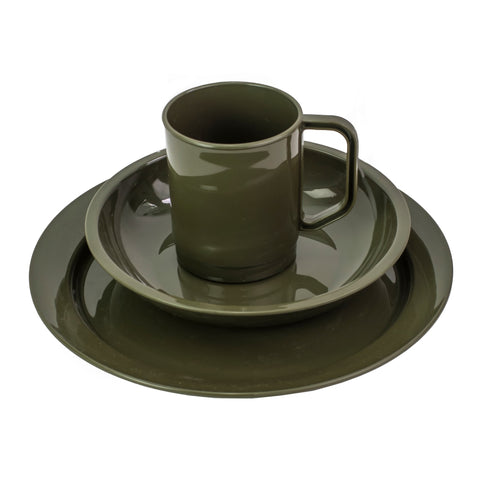 DofE Plate, bowl & mug set