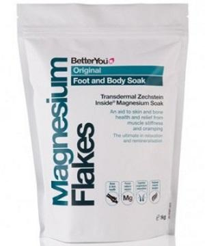the minerals in BetterYou's magnesium bath flakes are pure magnesium chloride