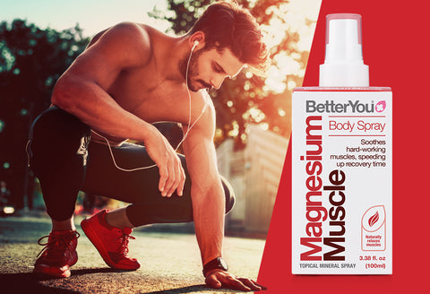 Recover better - Magnesium Muscle Body Spray