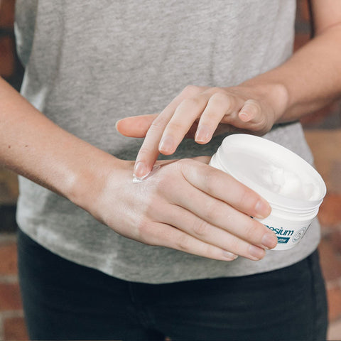 apply transdermal magnesium to your skin to absorb quickly and efficiently
