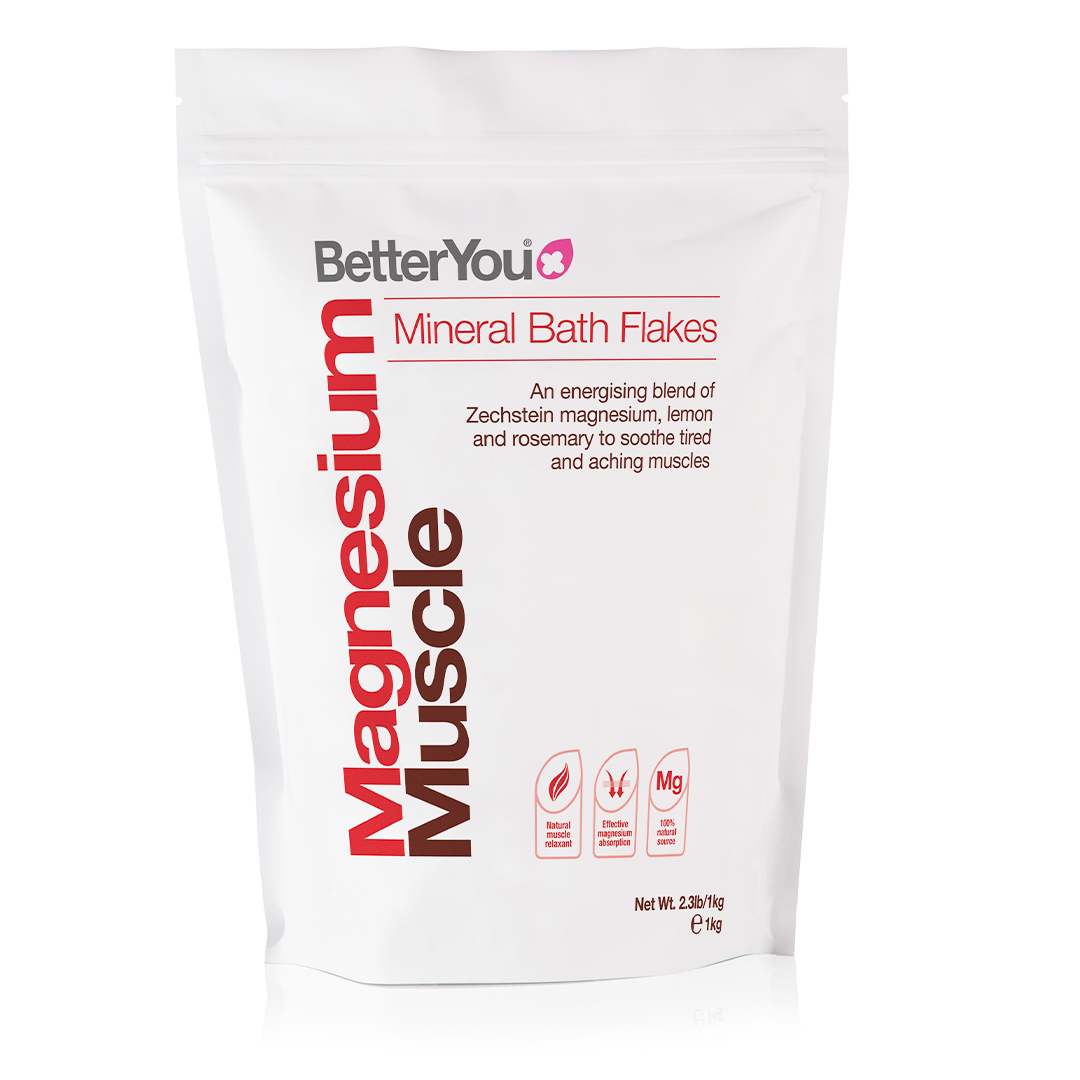 Magnesium Muscle Bath Flakes