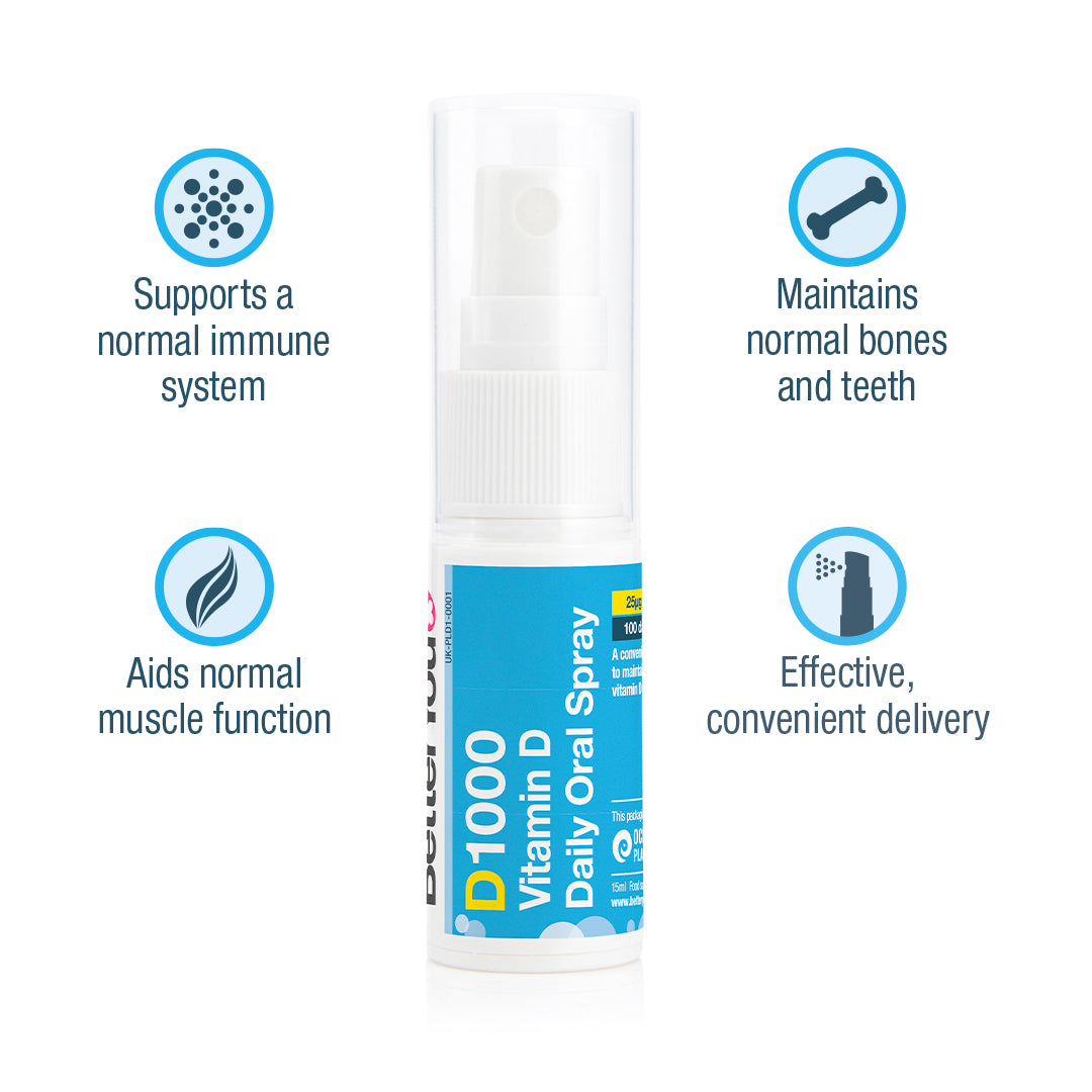 D1000 Vitamin D Oral Spray