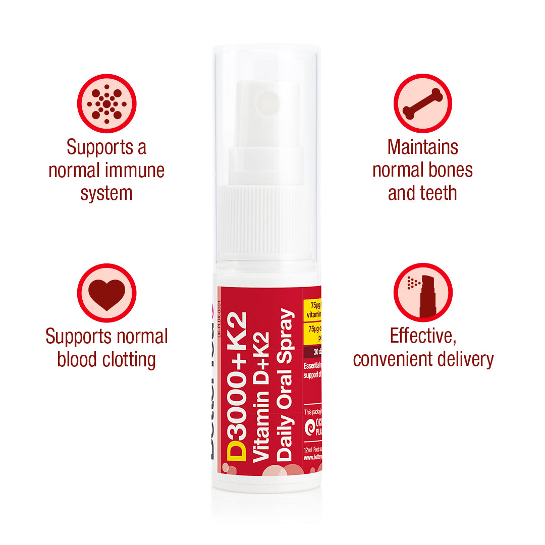 Vitamin D3000+K2 Oral Spray