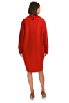 Emily wool blend button coat