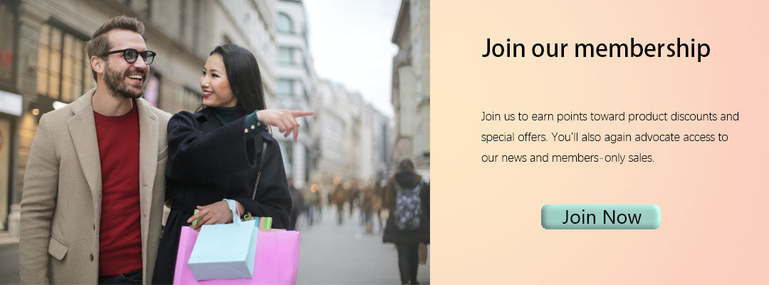 Join Lejoy's membership to earn points
