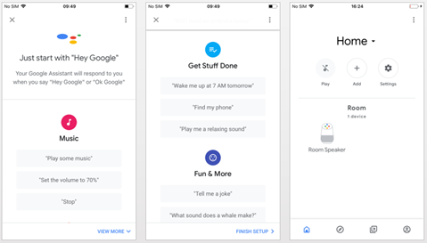 Assistant google connection guide